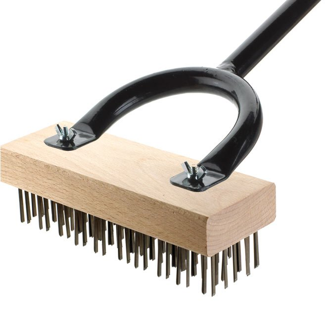 Wire Grill Brush | The Texas Brush Restaurant Grill Brushes